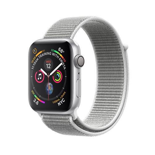 Apple Watch Series 4 GPS + LTE 40mm Silver Alum. w. Seashell Sport l. Silver Alum. (MTUF2) (GPS Cellular) Aluminium Case with Loop (MTUF2/ MTVC2) Apple Watch Series 4 (GPS + Cellular) 40mm Silver