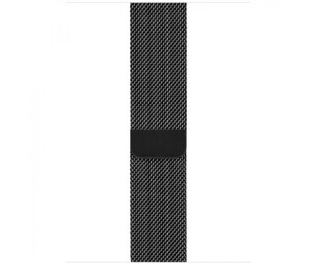 Apple Watch Series 4 (GPS Cellular) 44mm Space Black Stainless Steel Case with Space Black Milanese Loop (MTV62 / MTX32)