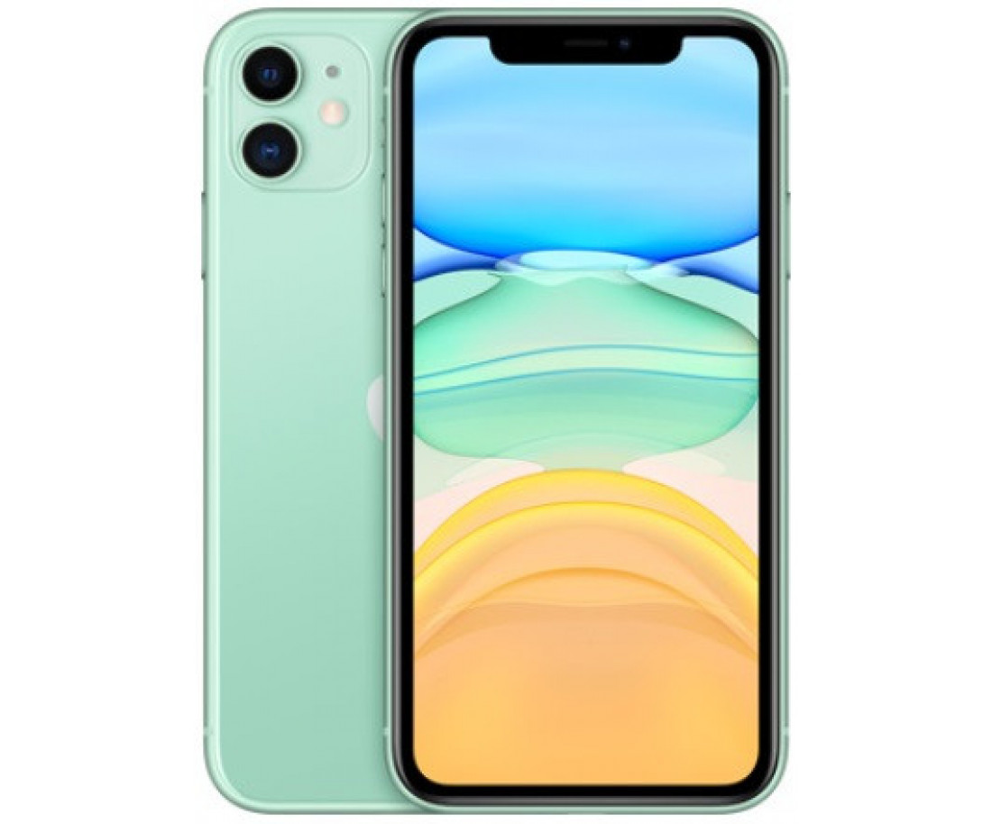 Apple iPhone 11 64GB Dual Sim Green (MWN62)