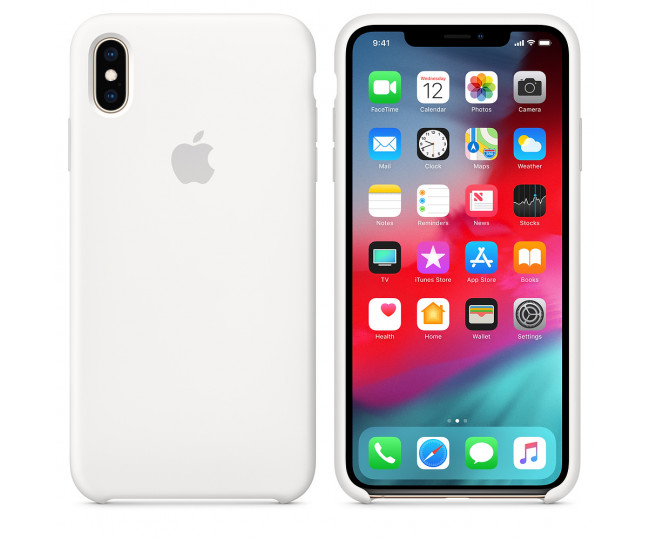 Чехол Apple Silicone Case White (MRWF2) для iPhone XS Max