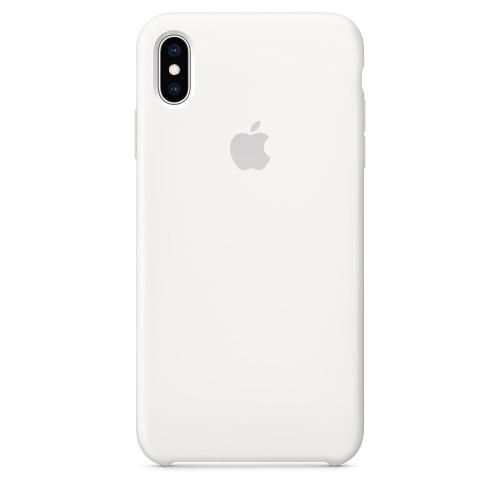 Чехол Apple Silicone Case White (MRWF2) для iPhone XS Max