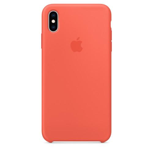 Чехол Apple Original Silicone для iPhone XS Max Coral