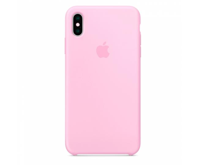 Чехол Apple Original Silicone для iPhone XS Max Pink
