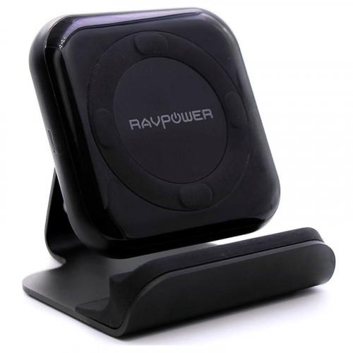 Беспроводное зарядное устройство RAVPower 10W Fast Wireless Charger Stand (RP-PC070)