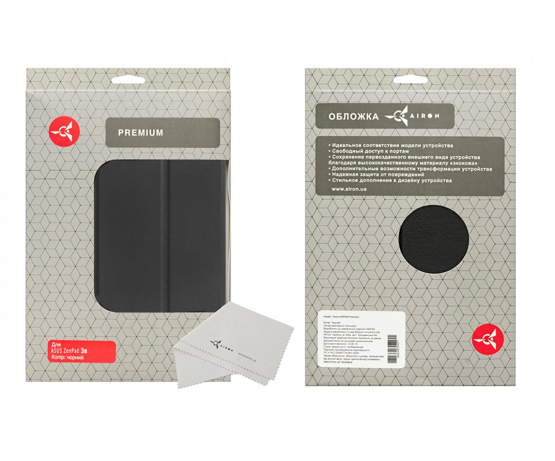 Чехол для планшета Airon Premium для ASUS ZenPad 3S 10 (Z500M) black