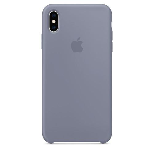 Чехол Apple Silicone Case Lavender Gray (MTFH2) для iPhone XS Max