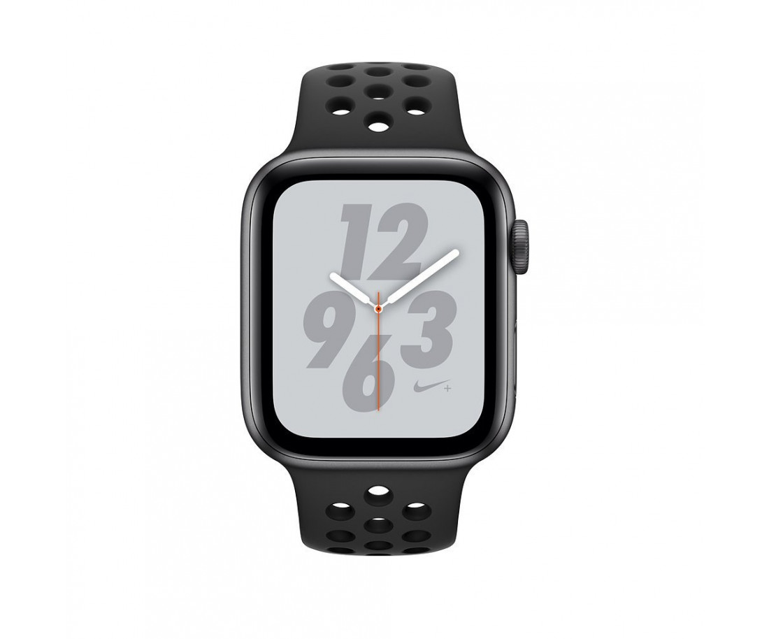 Apple Watch Nike  Series 4 GPS 40mm Gray Alum. w. Anthracite/Black Nike Sport b. Gray Alum. (MU6J2)
