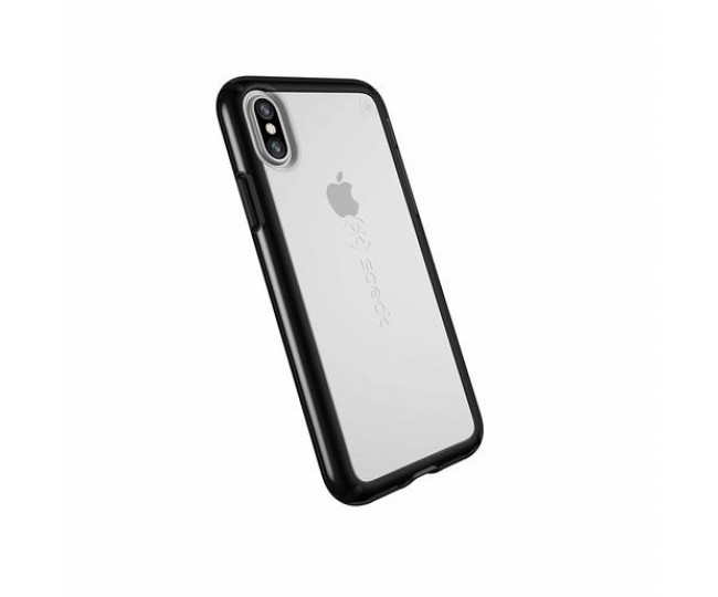 Чехол для iPhone XS/X (5.8'') Speck Gemshell - Clear/Black (SP-103171-5905)