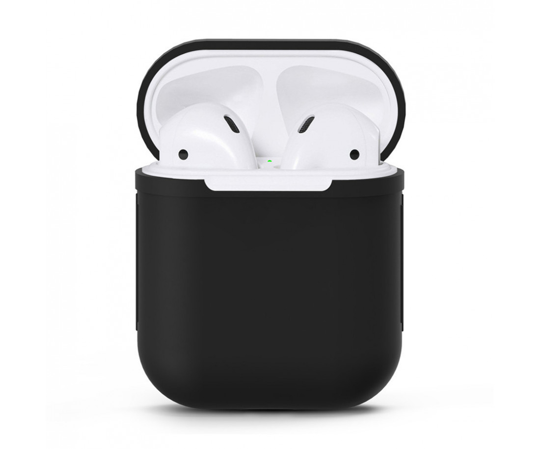 Чехол для Airpods Silicon Case Black