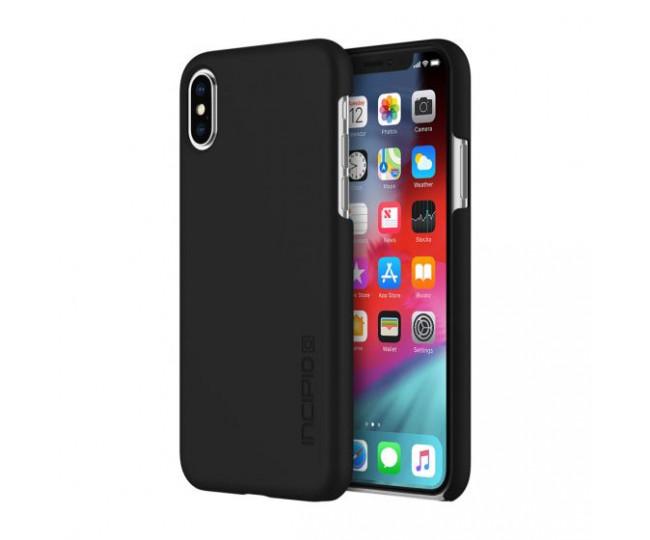"Чехол для iPhone XS/X (5.8"") Incipio Feather Black (IPH-1781-BLK)"