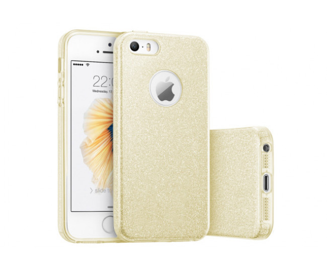 Чехол Fshang для iPhone 5/SE Gold