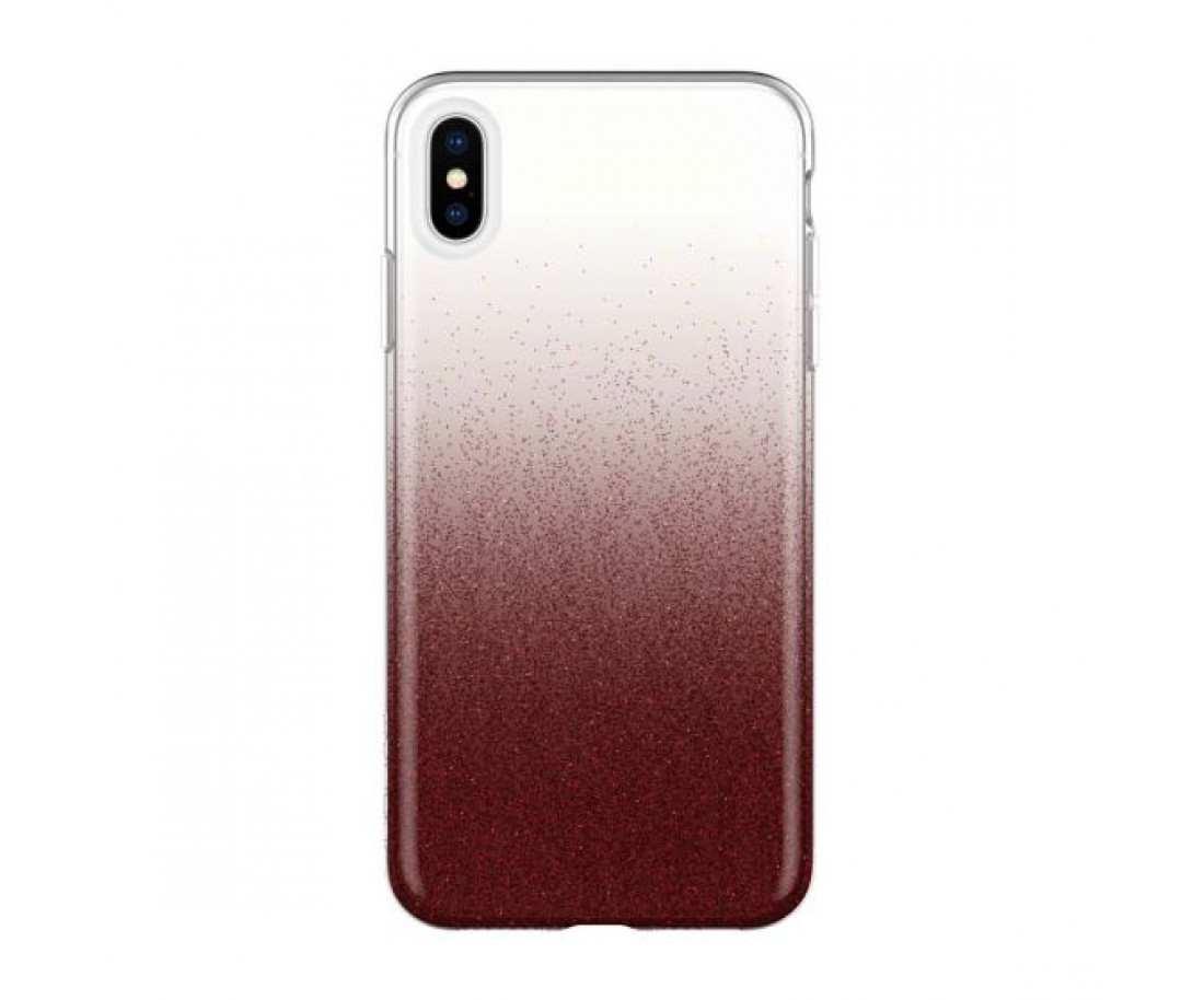 Чехол Incipio Design Series Classic для iPhone XS Max Cranberry Sparkler (IPH-1765-CBS)