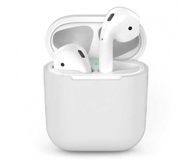 Чехол для Airpods Silicon Case White