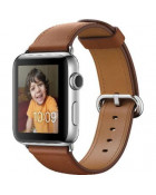 Ремешок для Apple Watch 38mm Hermes Buckle Classic Brown