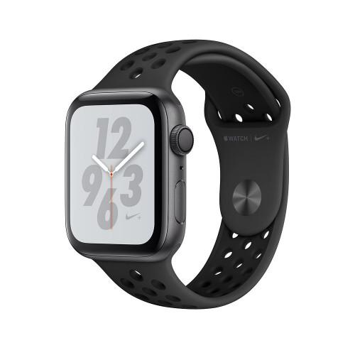 Apple Watch Nike Series 4 GPS 44mm Gray Alum. w. Anthracite/Black Nike Sport b. Gray Alum. (MU6L2) (GPS) Space Aluminum Case with Nike Band