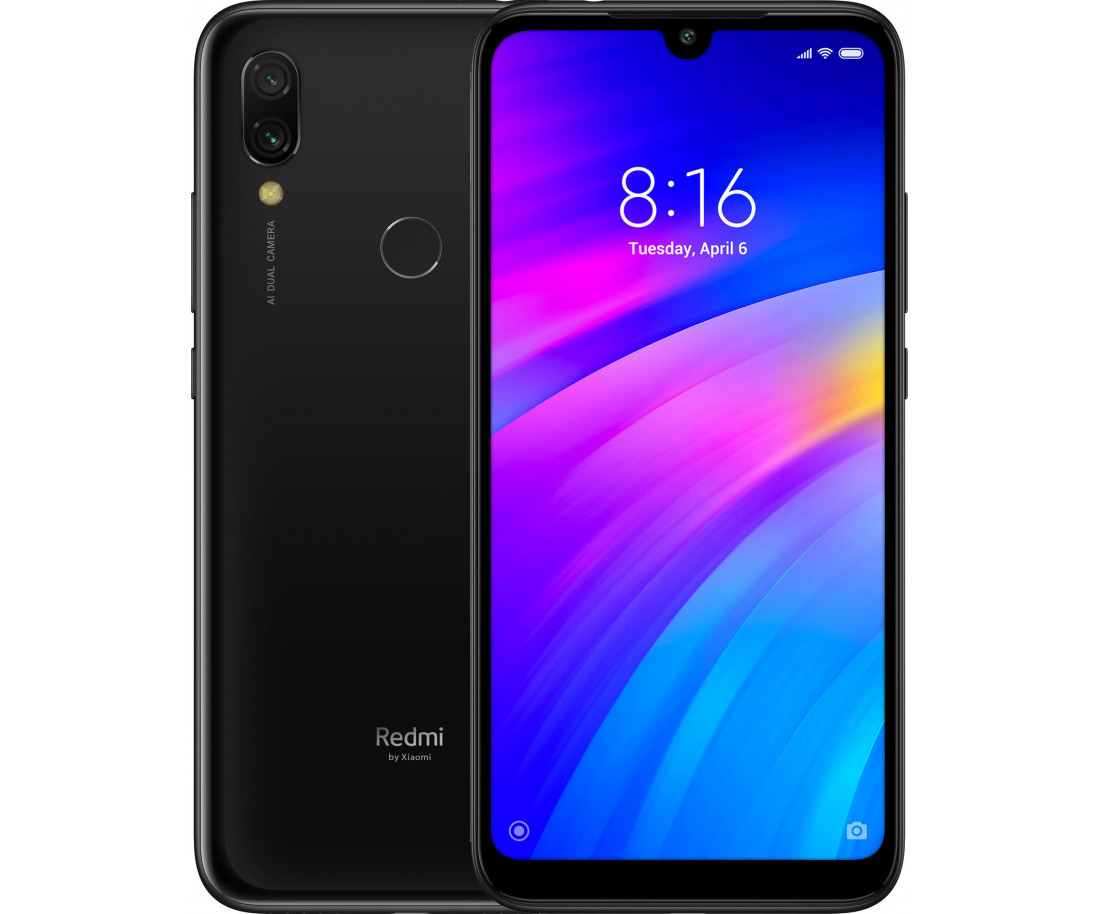Xiaomi Redmi 7 2/16GB Eclipse Black (463047)(UA UCRF)
