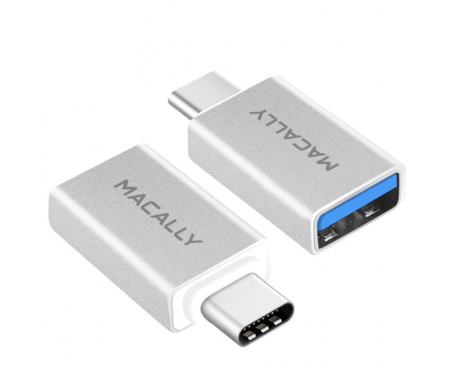 Кабель-переходник USB Macally USB-C to USB-A 3.0 2 in Pack (UCUAF2)