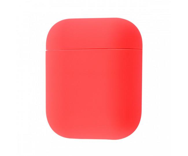 Чехол Airpods Silicon Case Watermelon Red