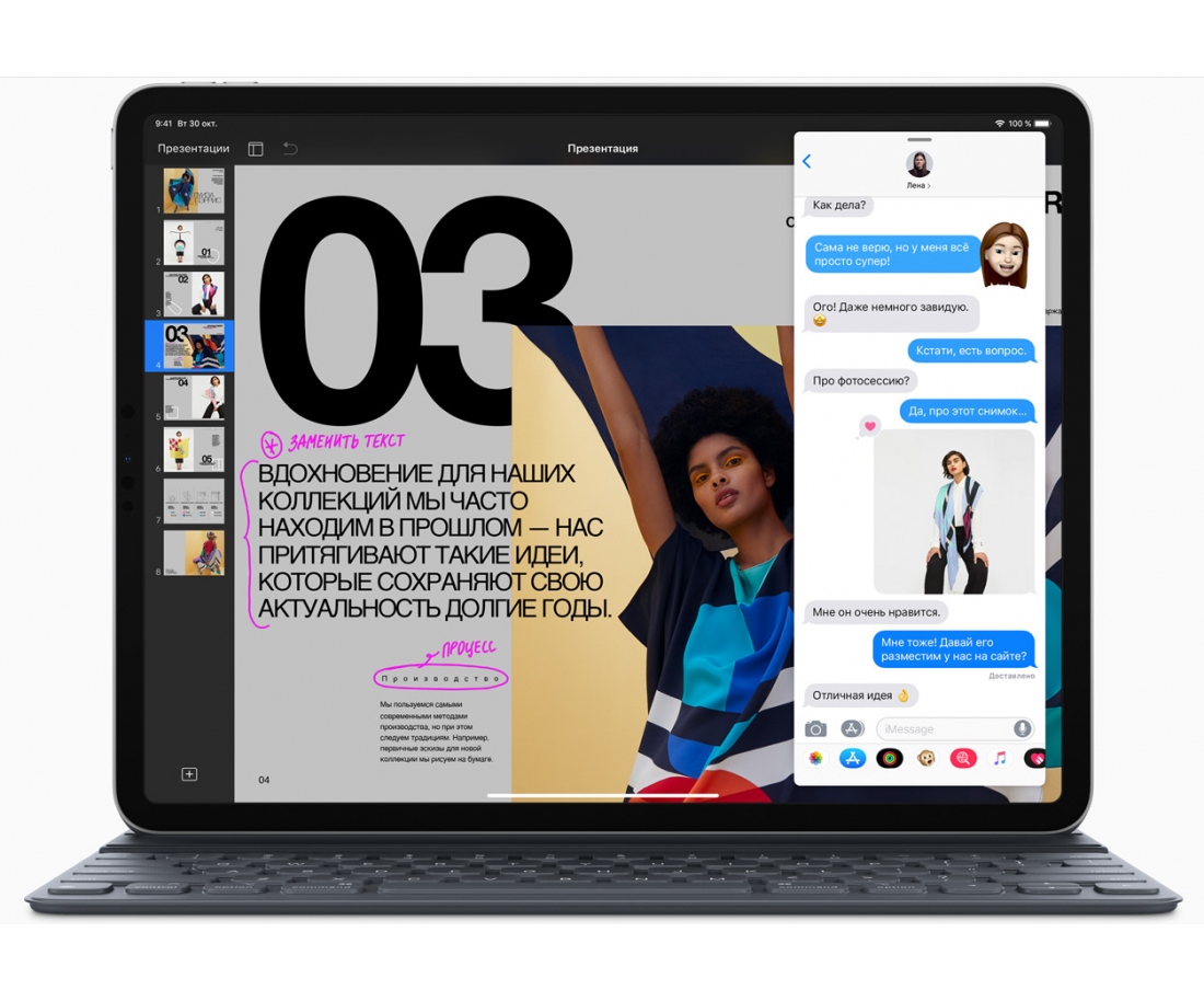 Apple iPad Pro 11 2018 Wi-Fi + Cellular 64GB Space Grey (MU0M2)