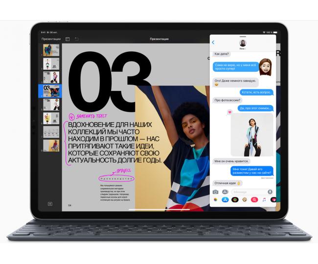 Apple iPad Pro 11 2018 Wi-Fi + Cellular 1TB Silver (MU222)
