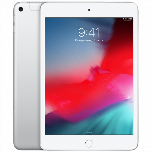 Apple iPad mini 5 Wi-Fi + Cellular 256GB Silver (MUXN2, MUXD2)