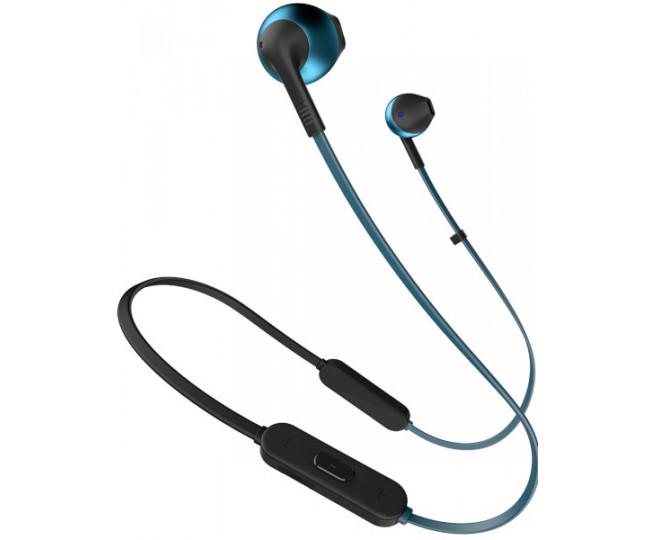Наушники с микрофоном JBL T205BT Blue (JBLT205BTBLU)