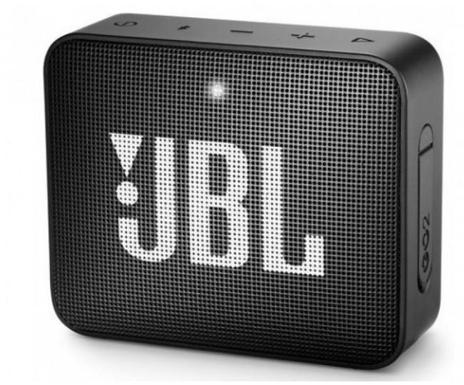 Портативная колонка JBL GO 2 Black (JBLGO2BLK)