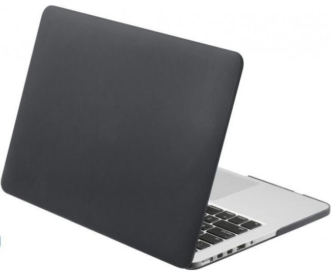 Чехол-накладка Laut HUEX для 13 MacBook Air (2018), черный LAUT_13MA18_HX_BK