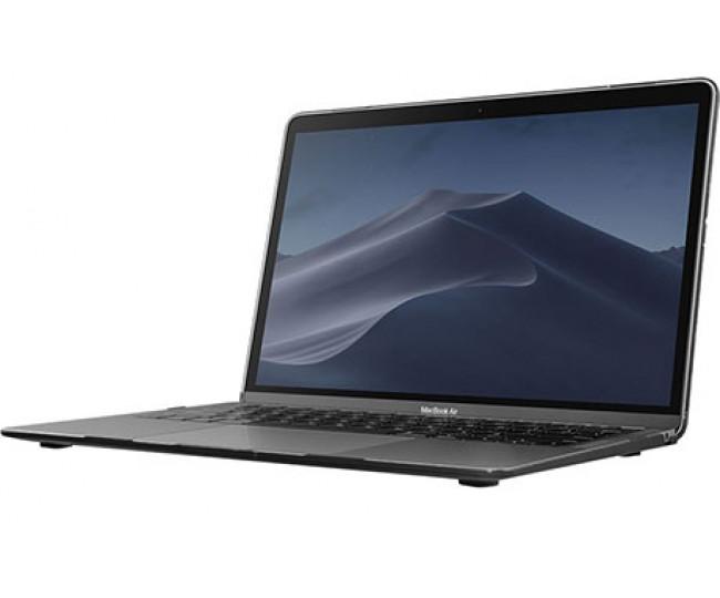 Чехол-накладка Laut HUEX ELEMENTS для 13 MacBook Air (2018), черный мрамор LAUT_13MA18_HXE_MB