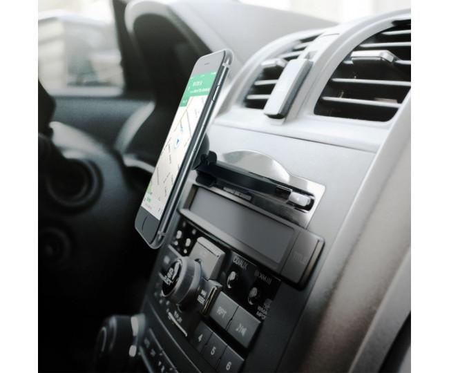 Автомобильный держатель для смартфона iOttie iTap Magnetic Black CD Slot Mount (HLCRIO152)