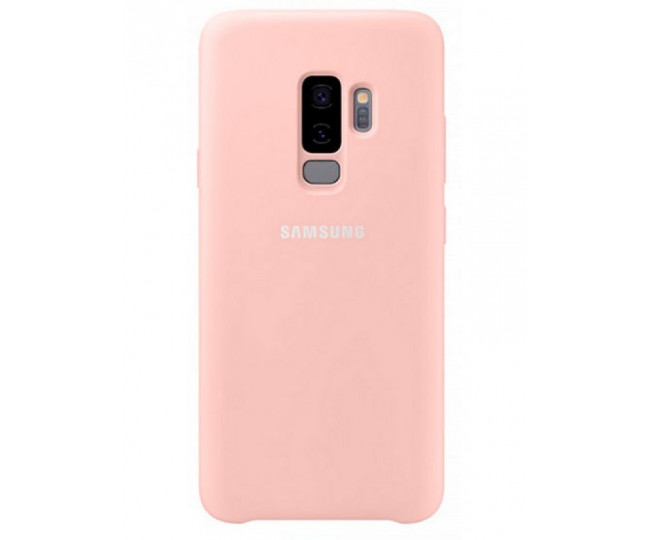 Чехол Samsung Silicone Cover для Samsung Galaxy S9+ Pink