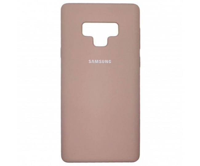 Чехол Samsung Silicone Cover для Samsung Galaxy Note 9 Pink Sand