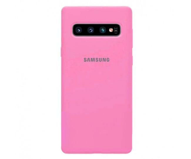 Чехол Samsung Silicone Cover для Samsung Galaxy S10 Raspberry
