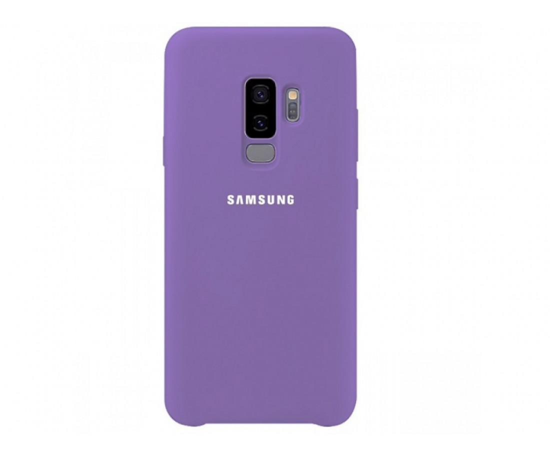 Чехол Samsung Silicone Cover для Samsung Galaxy S9 Lilac