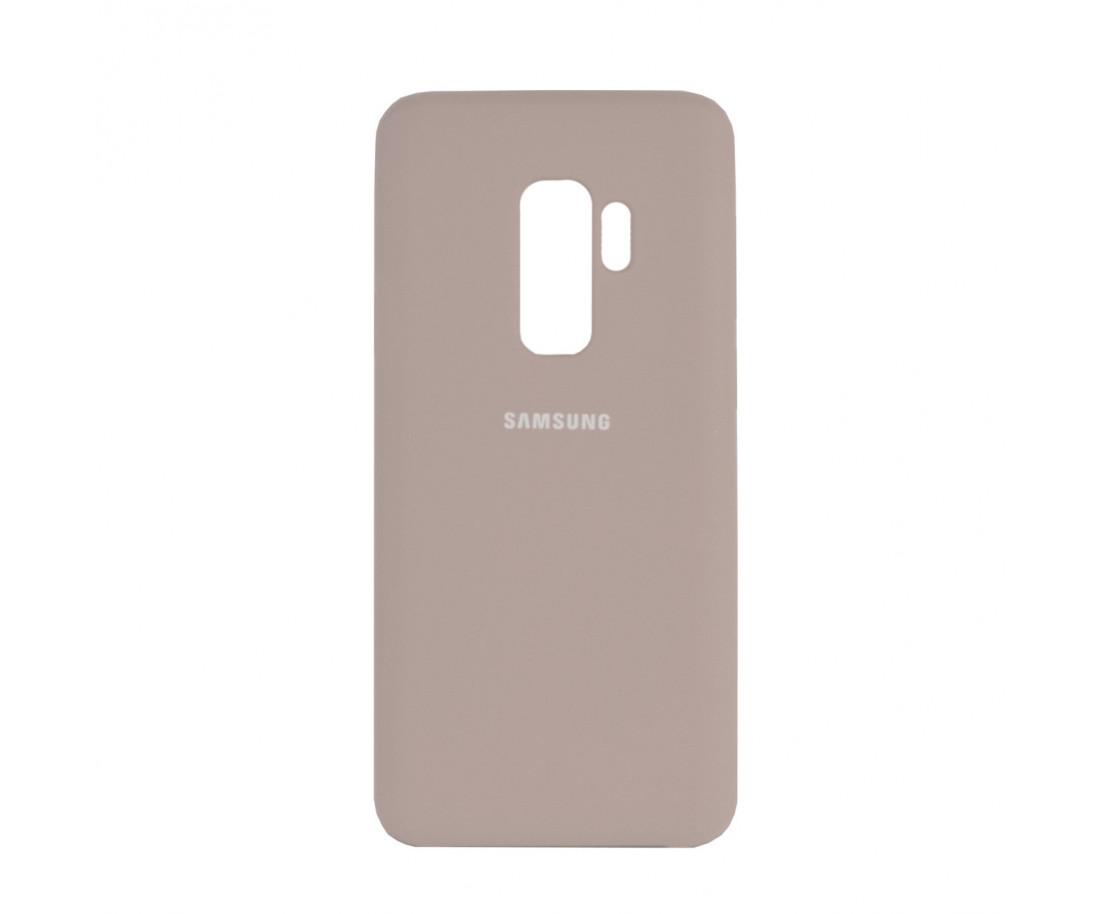 Чехол Samsung Silicone Cover для Samsung Galaxy S9+ Pink Sand