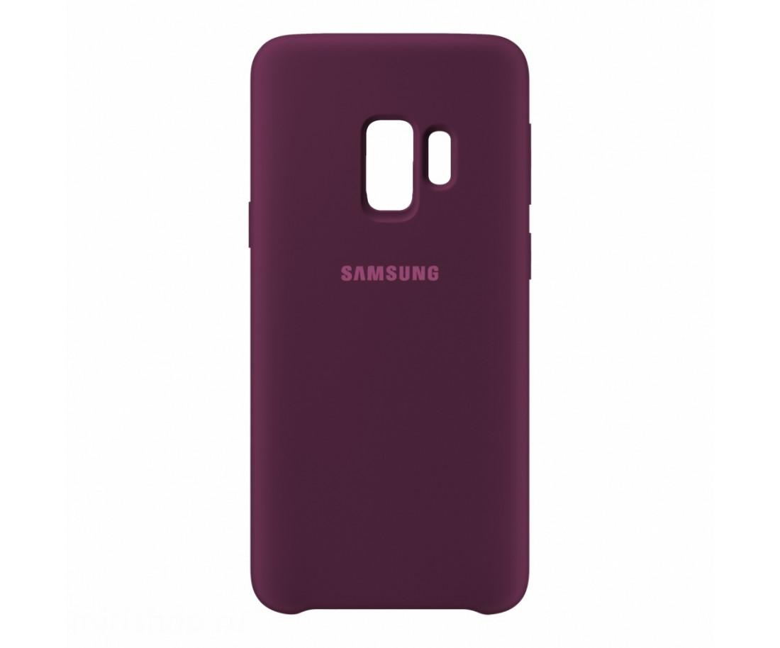 Чехол Samsung Silicone Cover для Samsung Galaxy S9 Purple