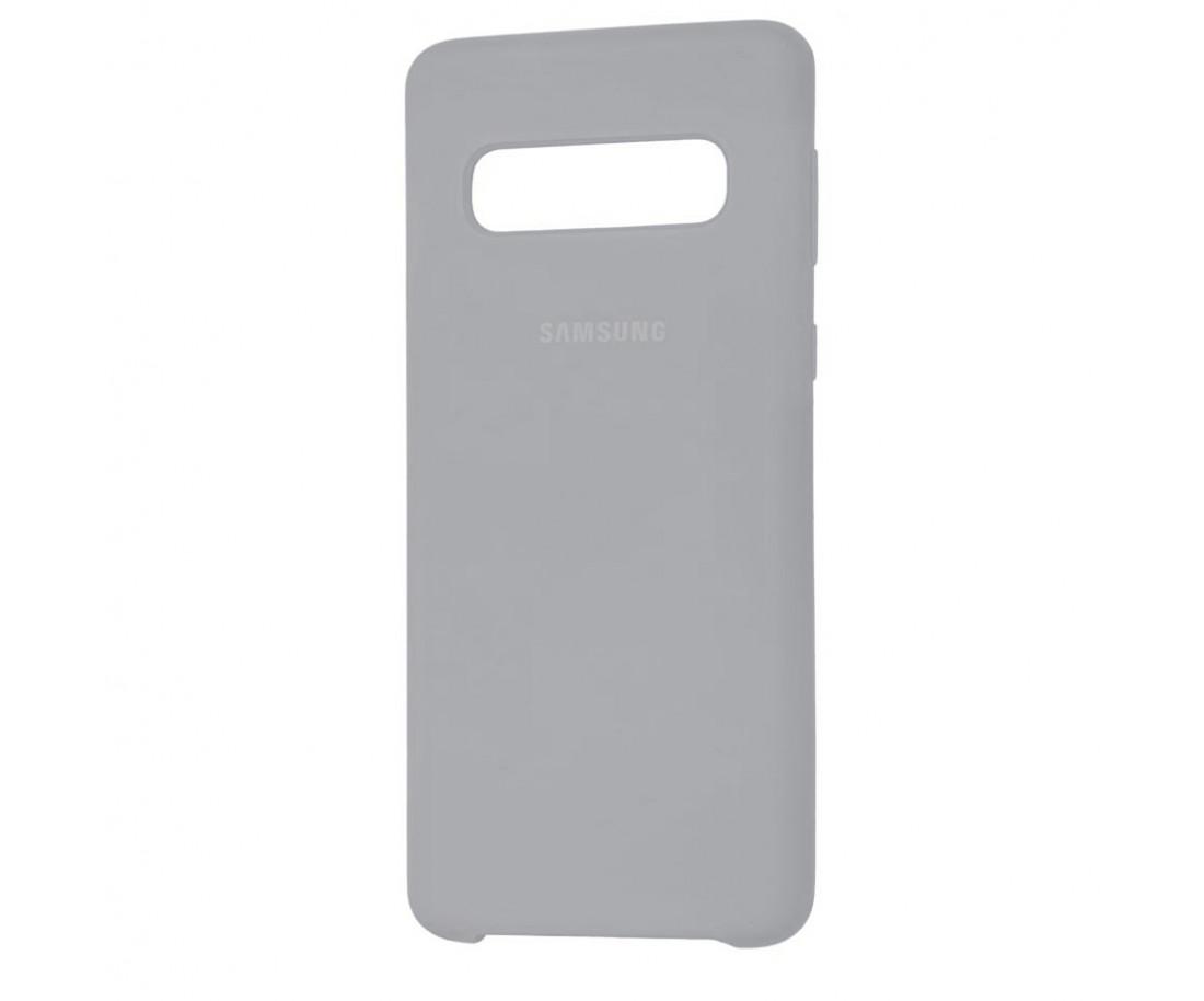 Чехол Samsung Silicone Cover для Samsung Galaxy S10+ Gray