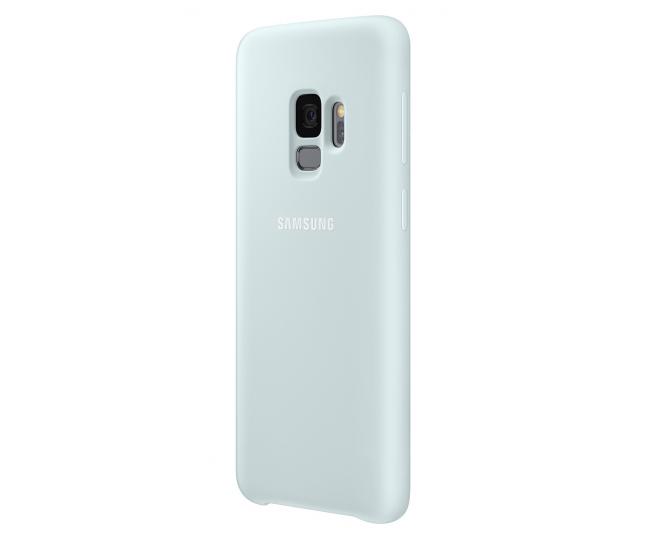 Чехол Samsung Silicone Cover для Samsung Galaxy S9 Blue