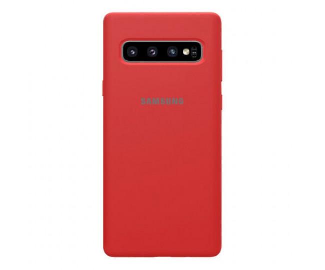 Чехол Samsung Silicone Cover для Samsung Galaxy S10 Red