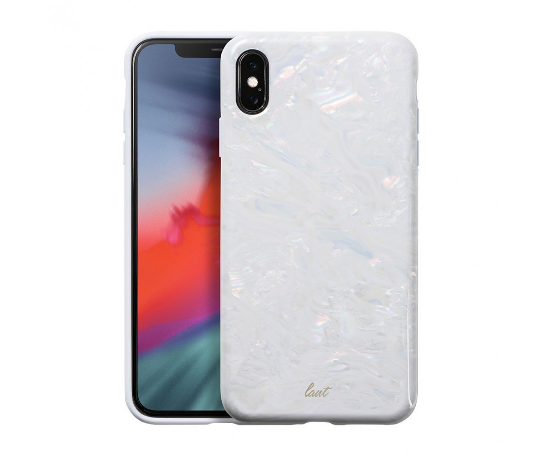 Чехол LAUT POP для iPhone X/XS White (LAUT_IP18-L_PL)