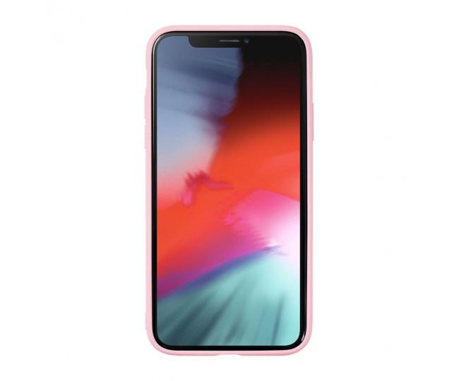 Чехол LAUT MINERAL GLASS для iPhone X/XS Pink (LAUT_IP18-S_MG_MP)
