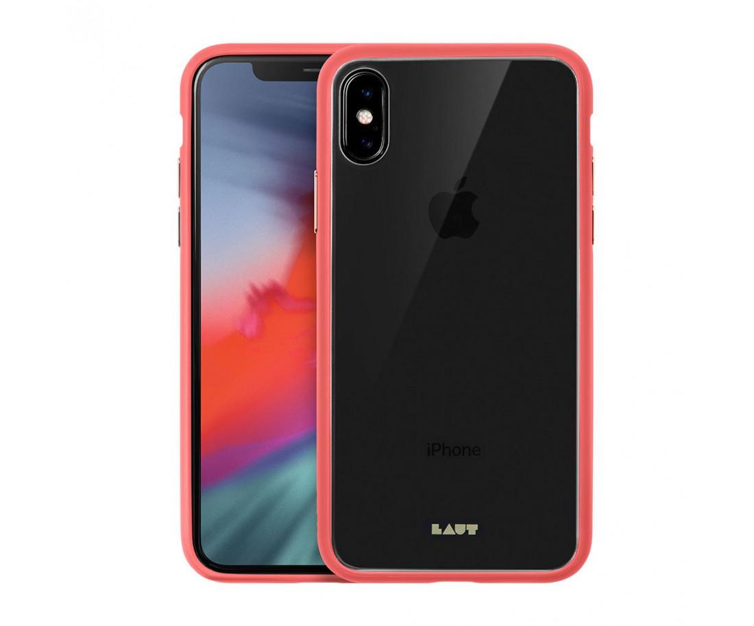 Чехол LAUT для iPhone X/XS Pink (LAUT_iP18-S_AC_P)