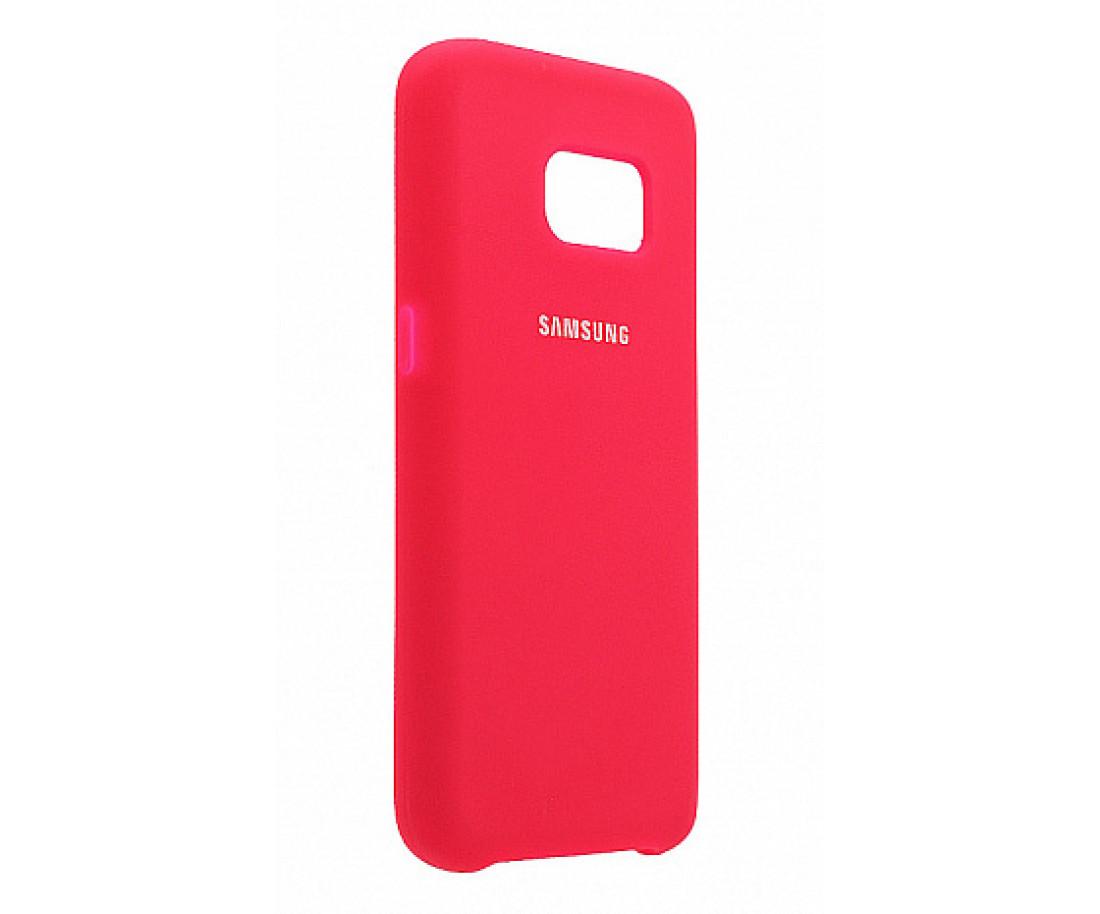 Чехол Samsung Silicone Cover для Samsung Galaxy S8 Raspberry