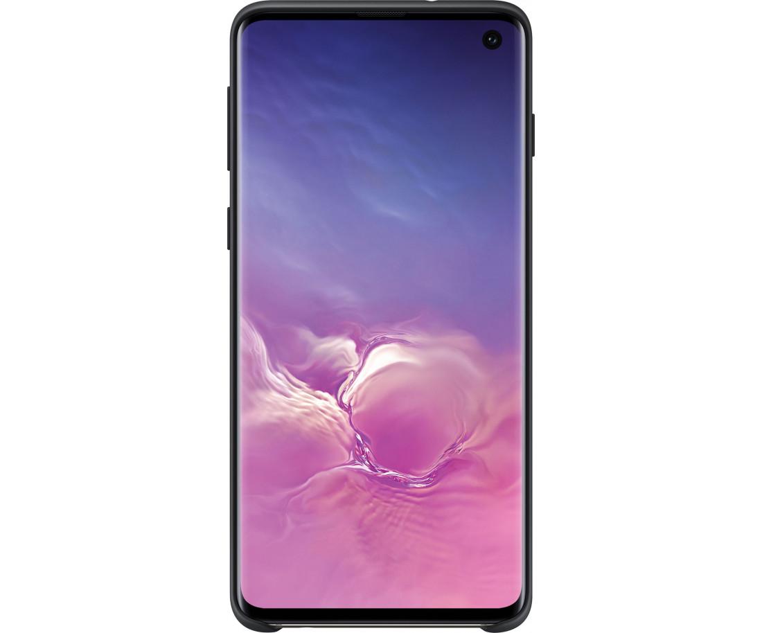 Чехол Silicone Cover для Samsung Galaxy S10 Black