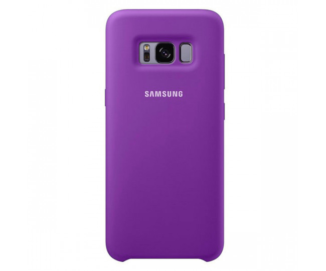Чехол Samsung Silicone Cover для Samsung Galaxy S8 Purple