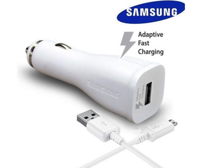 АЗУ Samsung Single USB Fast Charge 5.0V=2.0A White ORI