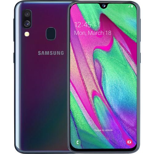 Samsung Galaxy A40 A405F 4/64GB Black (SM-A405FZKDSEK)(UA UCRF)
