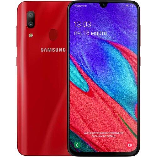 Samsung Galaxy A40 A405F 4/64GB Red (SM-A405FZRDSEK)(UA UCRF)