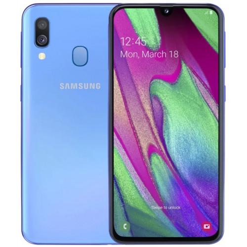 Samsung Galaxy A40 A405F 4/64GB Blue (SM-A405FZBDSEK)(UA UCRF)