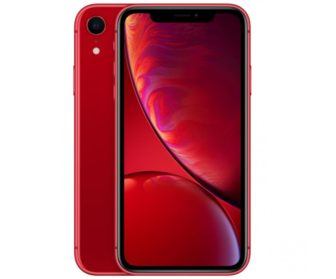 Apple iPhone XR Dual Sim 256GB Product Red (MT1L2)
